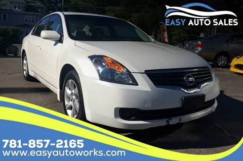 2009 Nissan Altima for sale at Easy Autoworks & Sales in Whitman MA