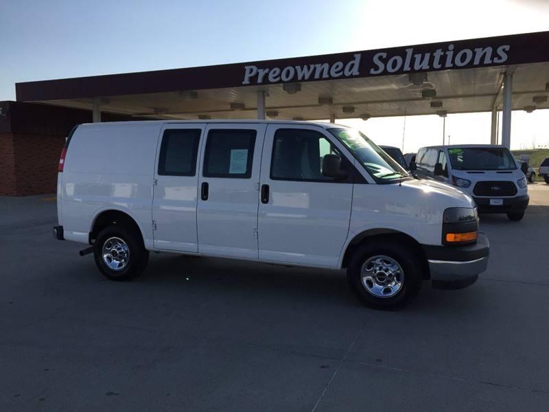 gray storm vans savana conversion metallic in neutral gmc van passenger