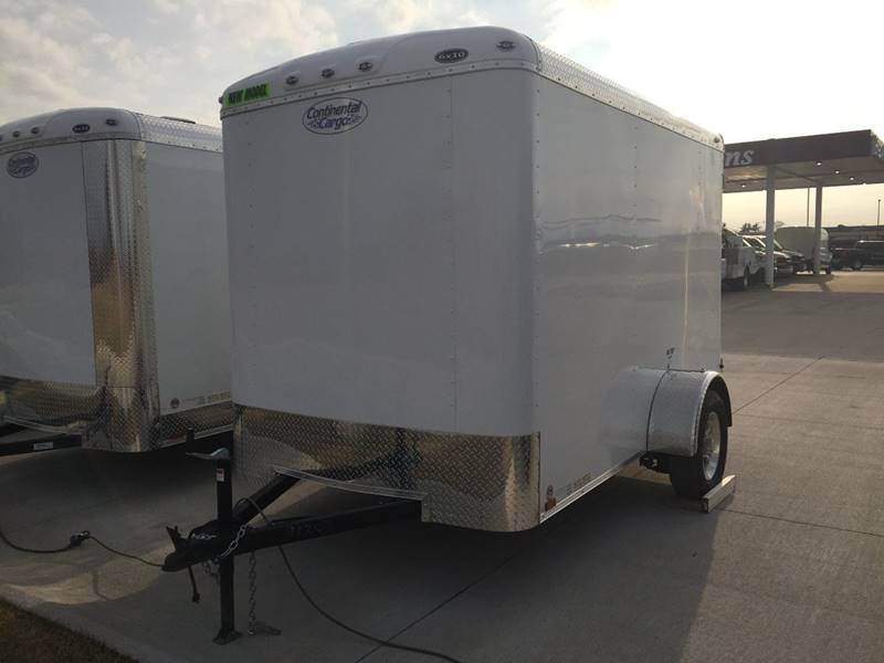 2020 Continental Cargo 6x10 Enclosed Trailer Tailwind