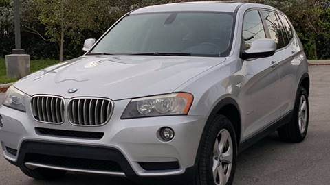 2011 BMW X3 for sale in Hollywood, FL