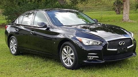 2014 Infiniti Q50 for sale in Hollywood, FL