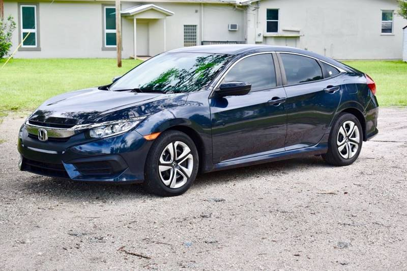 2016 Honda Civic For Sale At CARSTRADA In Hollywood FL