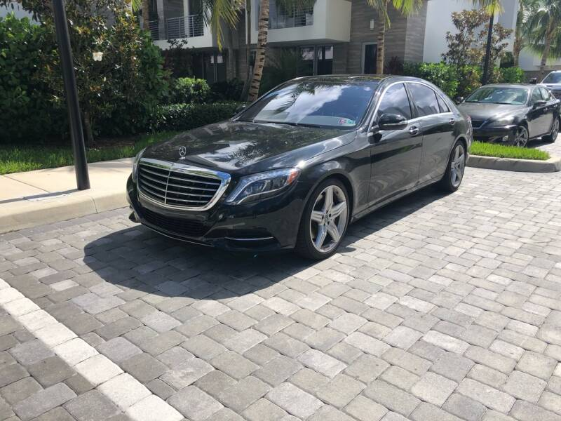 2017 Mercedes-Benz S-Class for sale at CARSTRADA in Hollywood FL