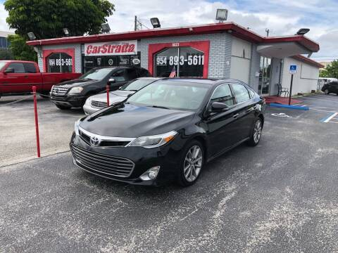 2015 Toyota Avalon for sale at CARSTRADA in Hollywood FL