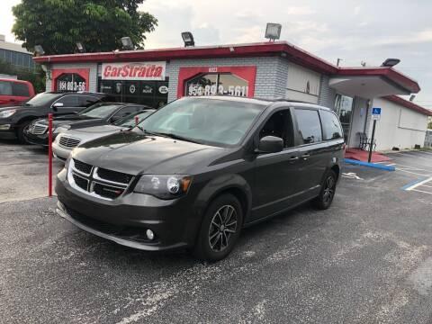 2018 Dodge Grand Caravan for sale at CARSTRADA in Hollywood FL