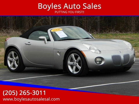 2006 Pontiac Solstice for sale in Jasper, AL