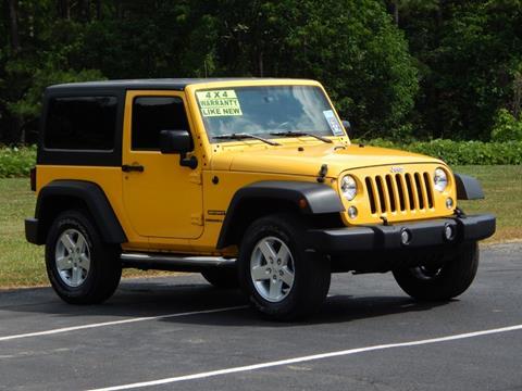 2015 Jeep Wrangler for sale in Jasper, AL