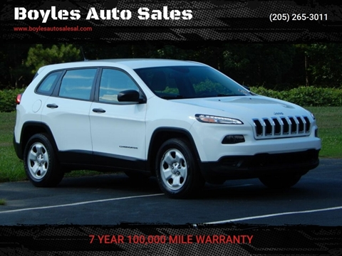 2016 Jeep Cherokee for sale in Jasper, AL
