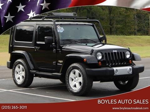 2010 Jeep Wrangler for sale in Jasper, AL