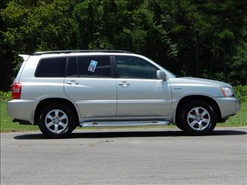 2003 Toyota Highlander for sale in Jasper, AL