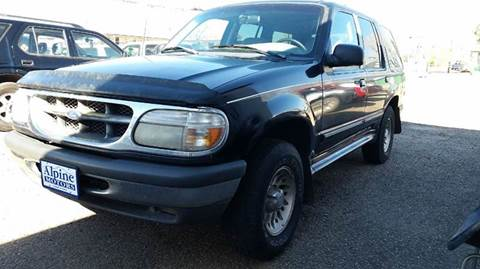 1998 Ford Explorer for sale at Alpine Motors LLC in Laramie WY