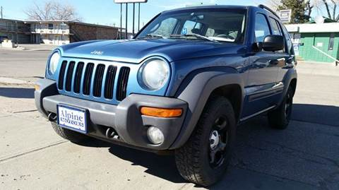 2004 Jeep Liberty for sale at Alpine Motors LLC in Laramie WY