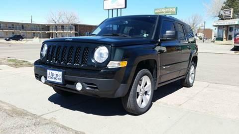 2013 Jeep Patriot for sale at Alpine Motors LLC in Laramie WY