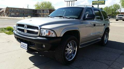 2002 Dodge Durango for sale at Alpine Motors LLC in Laramie WY