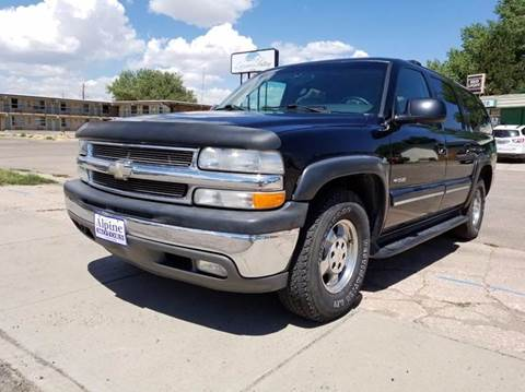 2000 Chevrolet Suburban for sale at Alpine Motors LLC in Laramie WY