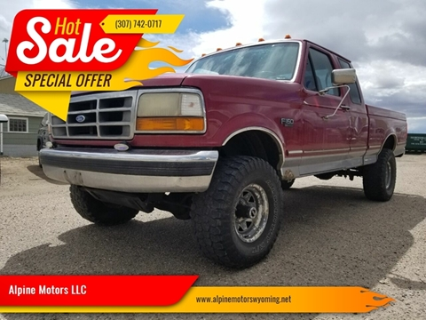 1995 Ford F-150 for sale in Laramie, WY