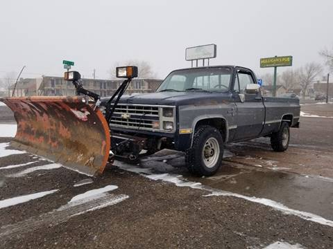 1986 Chevrolet C/K 20 Series K20 Silverado for sale at Alpine Motors LLC in Laramie WY