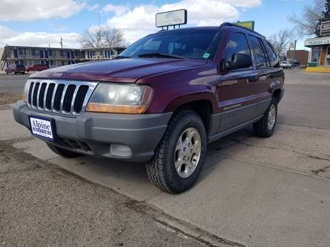 2002 Jeep Grand Cherokee Sport for sale at Alpine Motors LLC in Laramie WY