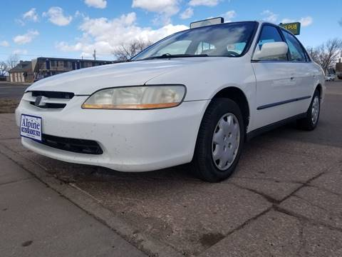 1998 Honda Accord LX for sale at Alpine Motors LLC in Laramie WY