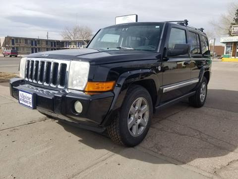 2006 Jeep Commander Limited for sale at Alpine Motors LLC in Laramie WY