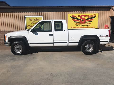 1997 GMC Sierra 2500 for sale in Blanchard, OK
