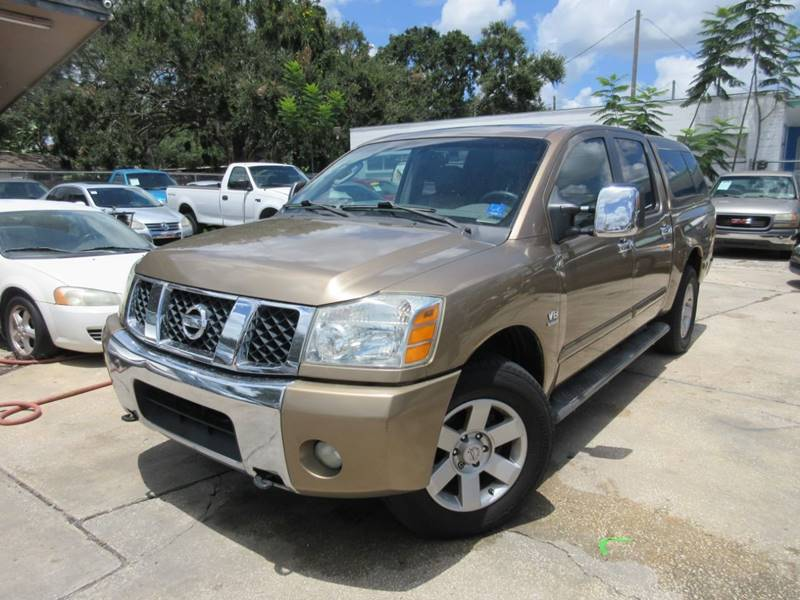 2004 Nissan Titan 4dr Crew Cab Le 4wd Sb In Orlando Fl Imperial