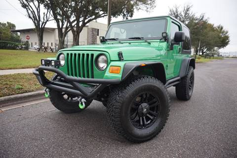 2004 Jeep Wrangler for sale in Ocoee, FL