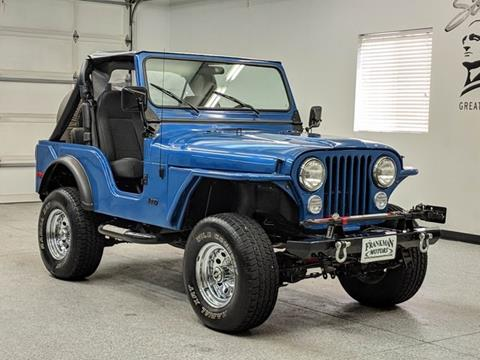 1979 Jeep CJ-5 for sale in Sioux Falls, SD