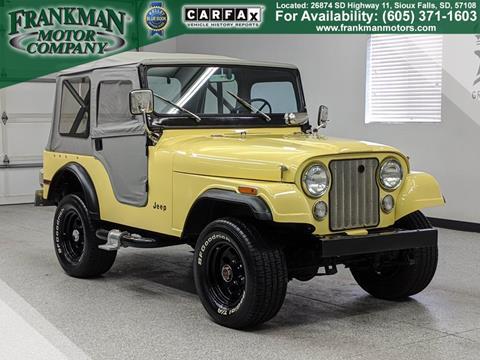 1973 Jeep CJ-5 for sale in Sioux Falls, SD