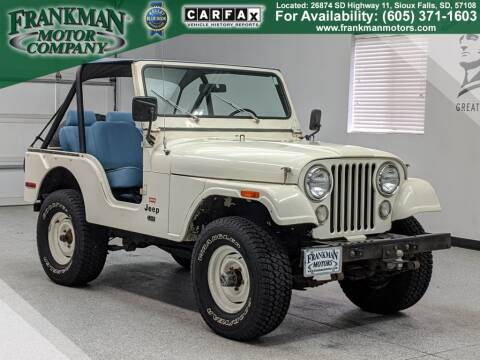 1976 Jeep CJ-5 for sale in Sioux Falls, SD