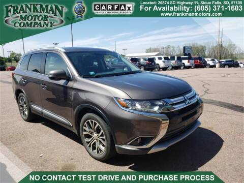 2017 Mitsubishi Outlander GT for sale at Frankman Motor Company in Sioux Falls SD