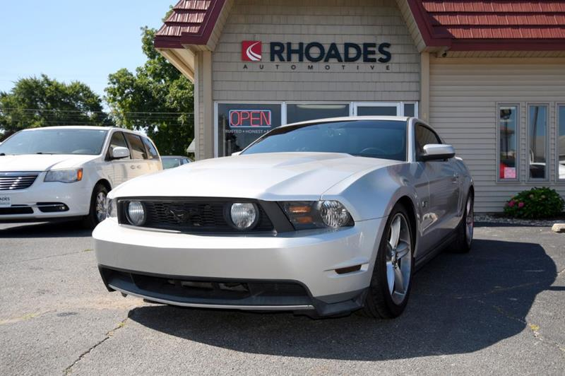 2010 Ford Mustang Gt In Columbia City In Rhoades Automotive