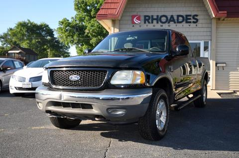 2002 Ford F-150 for sale in Columbia City, IN