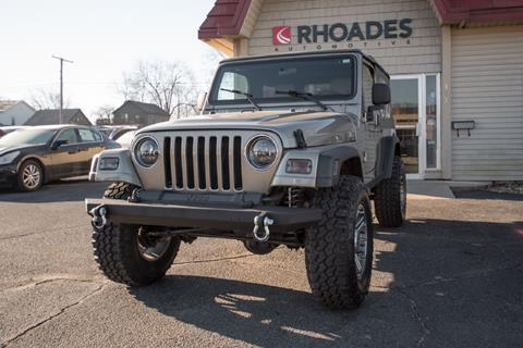 2006 Jeep Wrangler for sale in Columbia City, IN