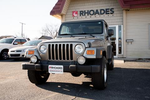 2005 Jeep Wrangler for sale in Columbia City, IN