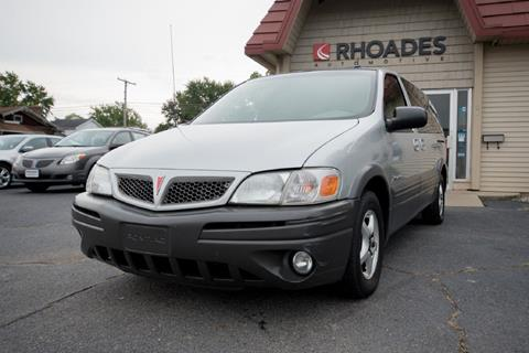 2002 Pontiac Montana for sale in Columbia City, IN