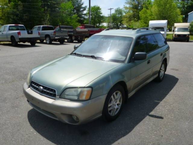 2003 Subaru Outback Awd 4dr Wagon In Milford Nh Milford Auto Outlet