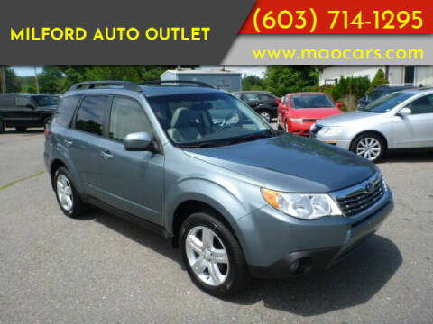 2009 Subaru Forester for sale at Milford Auto Outlet in Milford NH