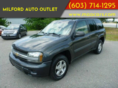 2005 Chevrolet TrailBlazer for sale at Milford Auto Outlet in Milford NH
