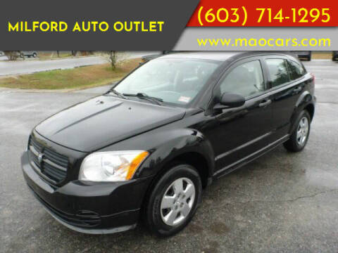 2007 Dodge Caliber for sale at Milford Auto Outlet in Milford NH