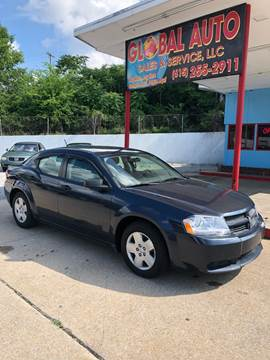2008 Dodge Avenger for sale at Global Auto Sales and Service in Nashville TN