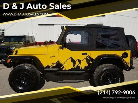 2001 Jeep Wrangler for sale in Dallas, TX