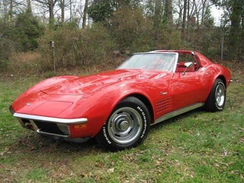 1971 Chevrolet CORVETTE T-TOP COUPE for sale at Classic AutoSmith in Marietta GA