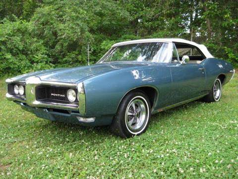 1968 Pontiac Le Mans for sale at Classic AutoSmith in Marietta GA