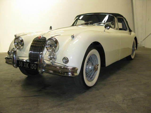 1957 Jaguar XK for sale at Classic AutoSmith in Marietta GA