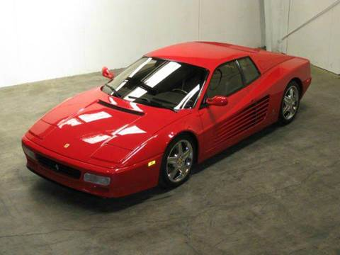 1993 Ferrari 512TR for sale at Classic AutoSmith in Marietta GA