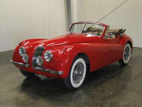 1954 Jaguar XK for sale at Classic AutoSmith in Marietta GA