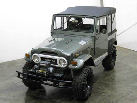 1973 Toyota Fj40 Land Cruiser for sale at Classic AutoSmith in Marietta GA