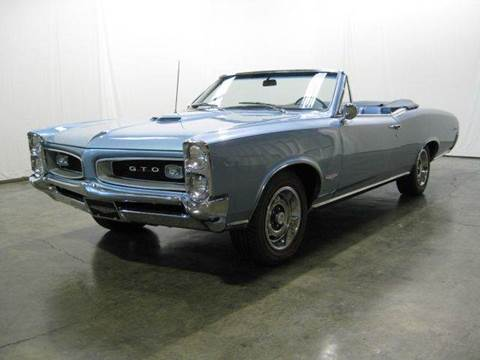 1966 Pontiac GTO for sale at Classic AutoSmith in Marietta GA