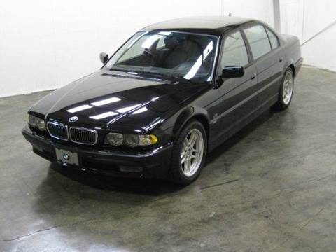 2001 BMW 7 Series for sale at Classic AutoSmith in Marietta GA